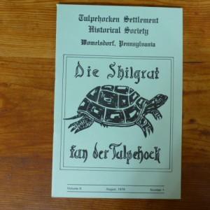 Die Shilgrut fun der Tulpehock (1979, Aug)