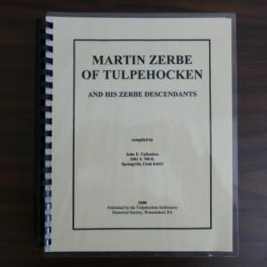 Martin Zerbe of Tulpehocken